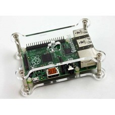 Geaux Robot Dog Bone Case for Raspberry Pi B+